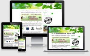 criação do site advento desentupidora porto alegre rs portfólio gauchaweb wordpress