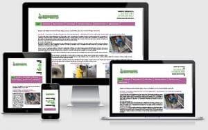 criação do site advento hidrojateamento portfólio gauchaweb porto alegre cachoeirinha criação de sites webdesign