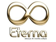 logotipo eterna alianças moeda antiga portfólio gauchaweb design grafico