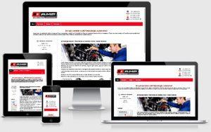 criação do site amp manutenção automotiva em plataforma joomla