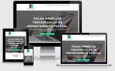 criação de site de terceirização de serviços