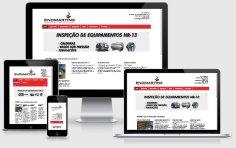 criação de sites de empresas de treinamentos