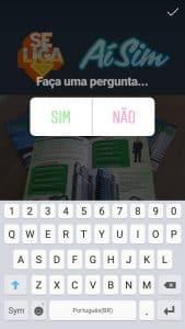 como fazer perguntas no stories do instagram passo 4