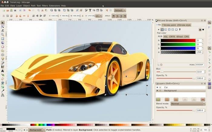 inkscape programa para design gráfico