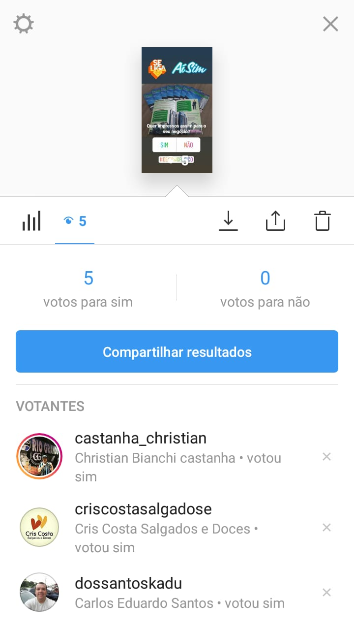 monitorar perguntas no instagram stories
