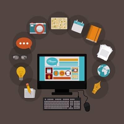 como trabalhar pela internet com blog de conteúdo