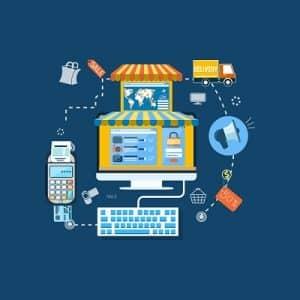 como trabalhar pela internet com loja virtual