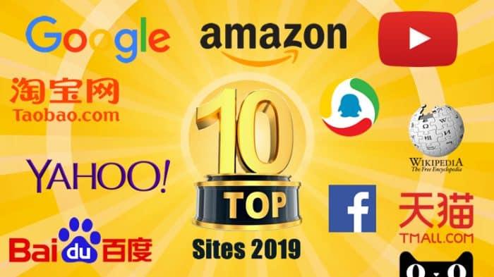 10 melhores sites do mundo em 2019 sites mais populares e mais visitados