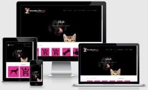loja virtual atacadão petfood criação de e-commerce em porto alegre rs