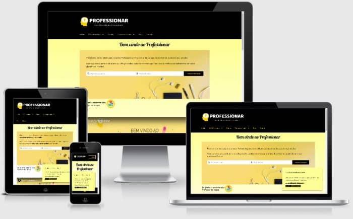 site de professores particulares professionar portfólio gauchaweb